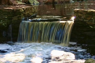 Waterfalls at Broadmoor Wildlife Sanctuary, Natick, Ma