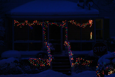 Lights in Natick, Ma