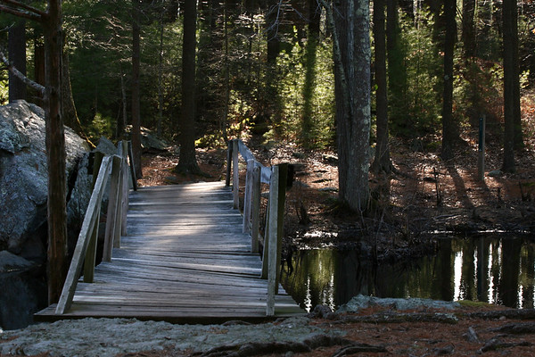 Bridge at Broadmoor Sanctuary, Natick MA