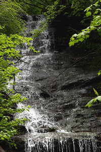 Money Brook Falls in the Mt Greylock State Reservation
