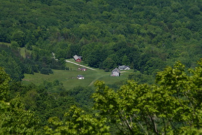 View from the road up Mt Greylock