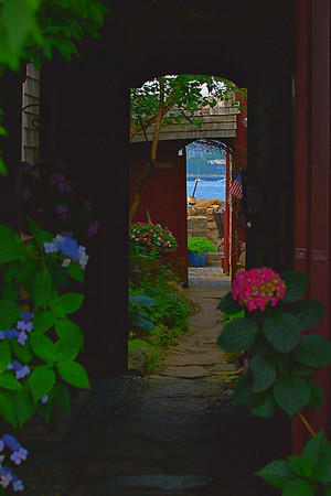 view to the water, Rockport, MA