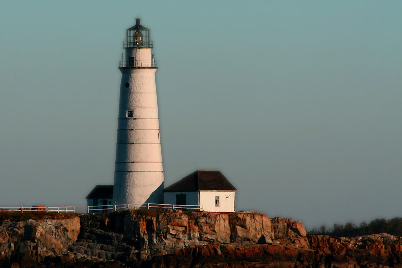 Little Brewster Lighthouse, Boston, MA