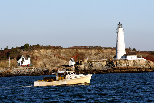 Boston Harbor Lighthouse, Little Brewster Island