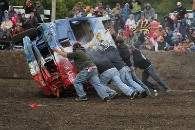 New England Wheat Harvest Jamboree Demolition Derby