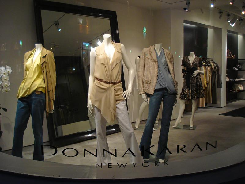 Lost Their Heads Over Donna Karan