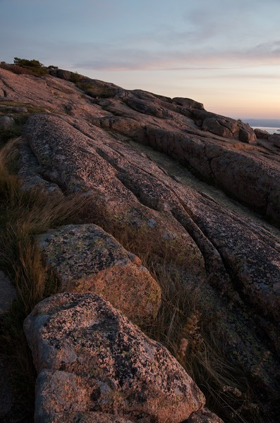 Dawn breaks on Mt Cadillac