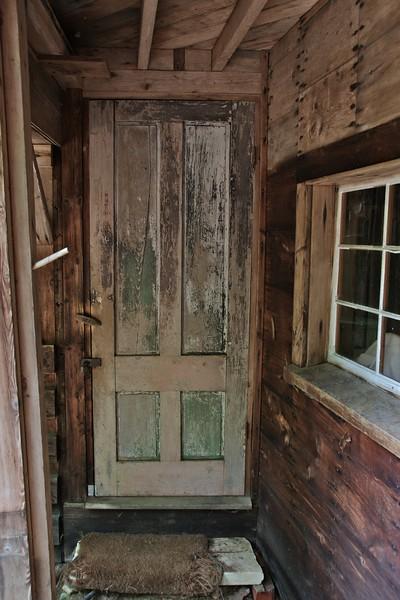 Door to the stables