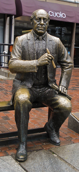 Red Auerbach Front Shot