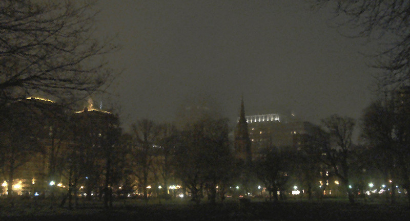 Foggy Night From The Commons