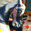 No, ride ME!<br /> Carousel Horse - near Christopher Columbus Waterfront Park and Qunicy Market, Boston. MA