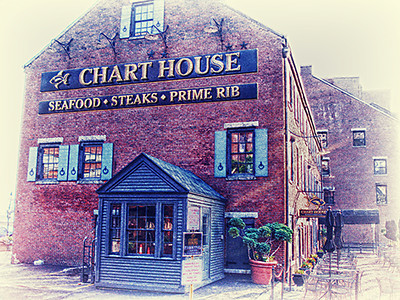 Chart House, Boston, MA<br /> HDR EfexPro & Color Efex Pro4