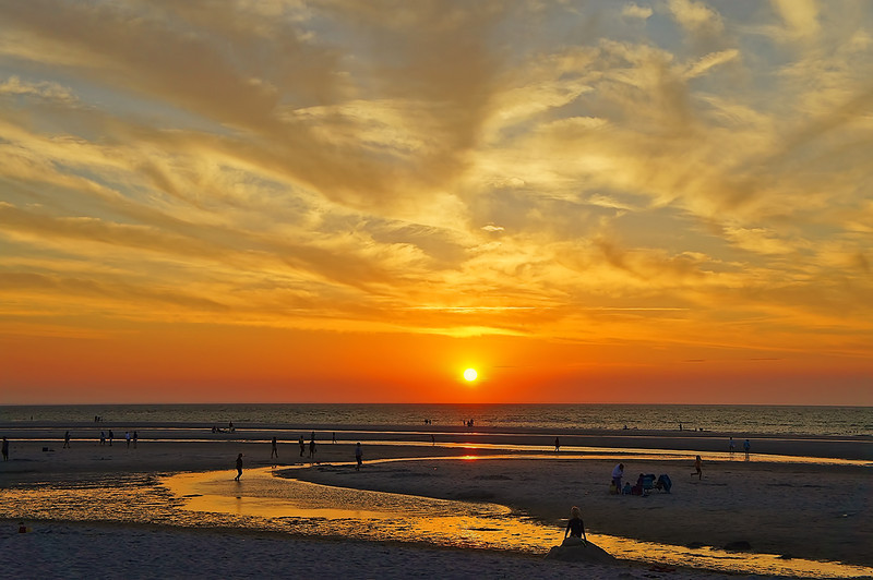 Another Mayflower Beach sunset picture.