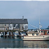 New edit of photo I took in 2010.  They Also Faced The Sea - Provincetown, MA
