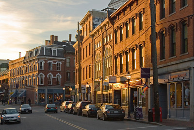 Old Port District, Portland Maine