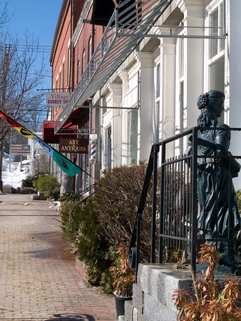 Main Street Buildings, Wiscasset, Maine