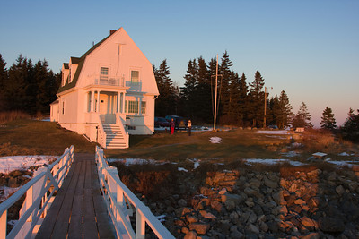 Lightkeeper's House at Marshall Point Lighthouse, near Rockland, Maine