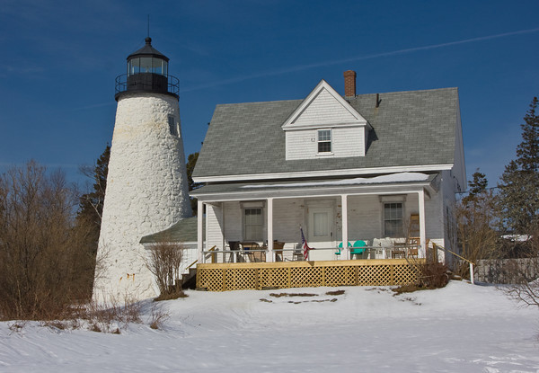 Dyces Head Lighthouse, Castine, Maine
