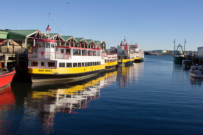 Portland Maine Ferry Boats