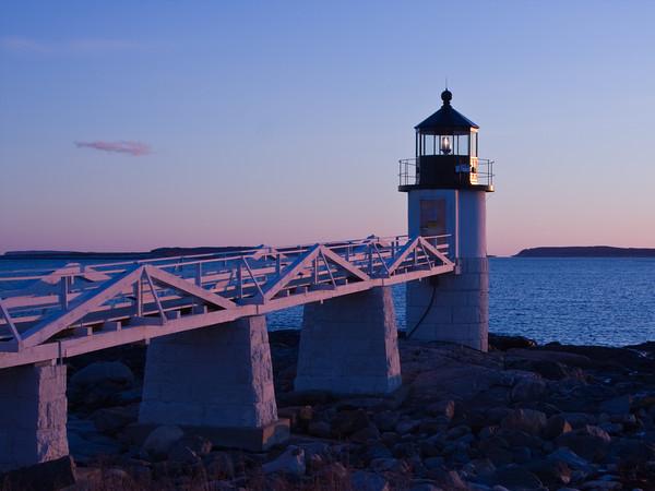Marshall Point Lighthouse, near Rockland, Maine