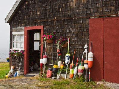 Maine Lobster Fishing Hut