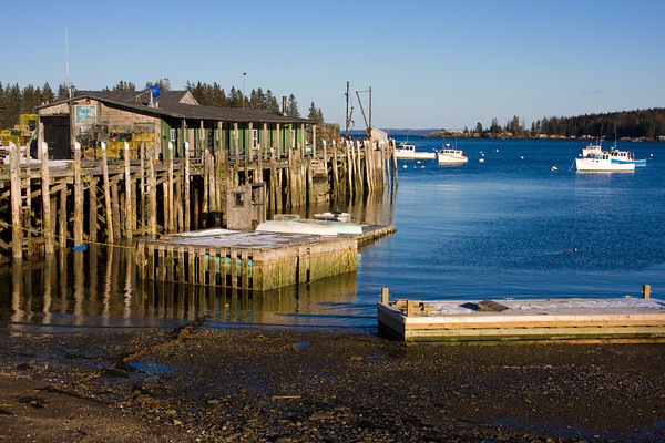 Fishing Harbor of Owls Head, Maine