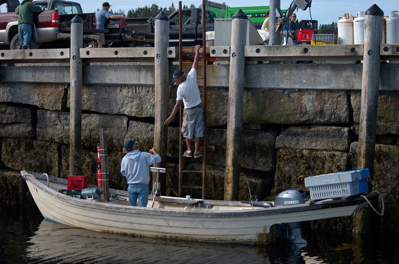 Loading at the Dock