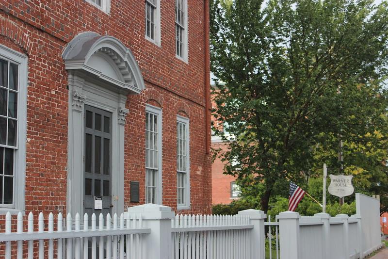 Warner House Entrance