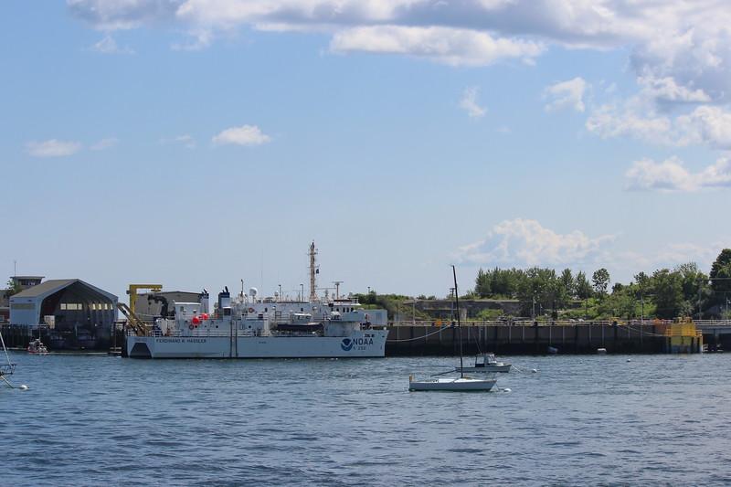 NOAA Boat