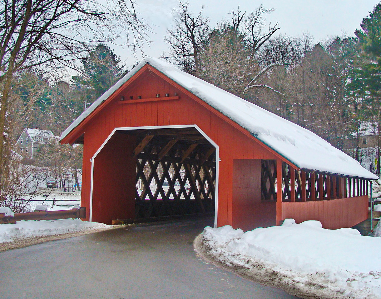 View of the Creamery Bridge from the Road