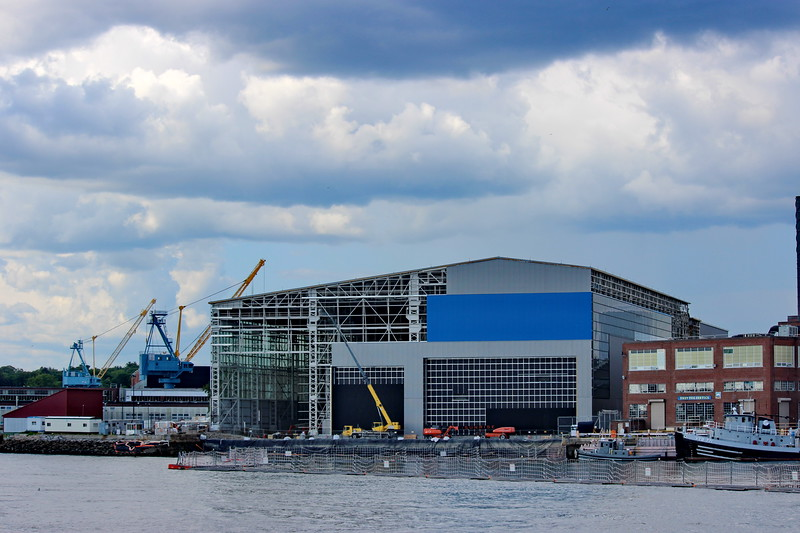Ship Maintenance Building
