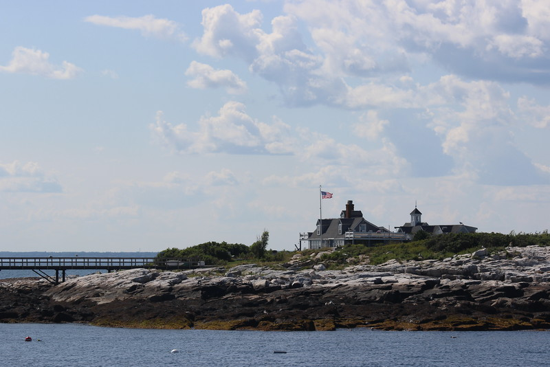 Flag on the Isles of Shoals