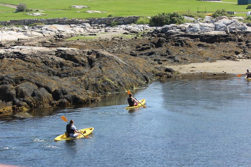Kayaking at Star Island