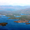 Center Harbour From Moultonborough Neck, Black Cat Island, Hull Island, Bluberry Island,