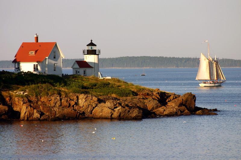 Curtis Island at Dusk, Camden Maine