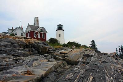 Pemaquid Light on the Rocks