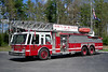 Buxton, Maine - Bar Mills station<br /> Ladder 1: 1985 E-One Hurricane 1250/200/110'<br /> x-LaPorte, Indiana