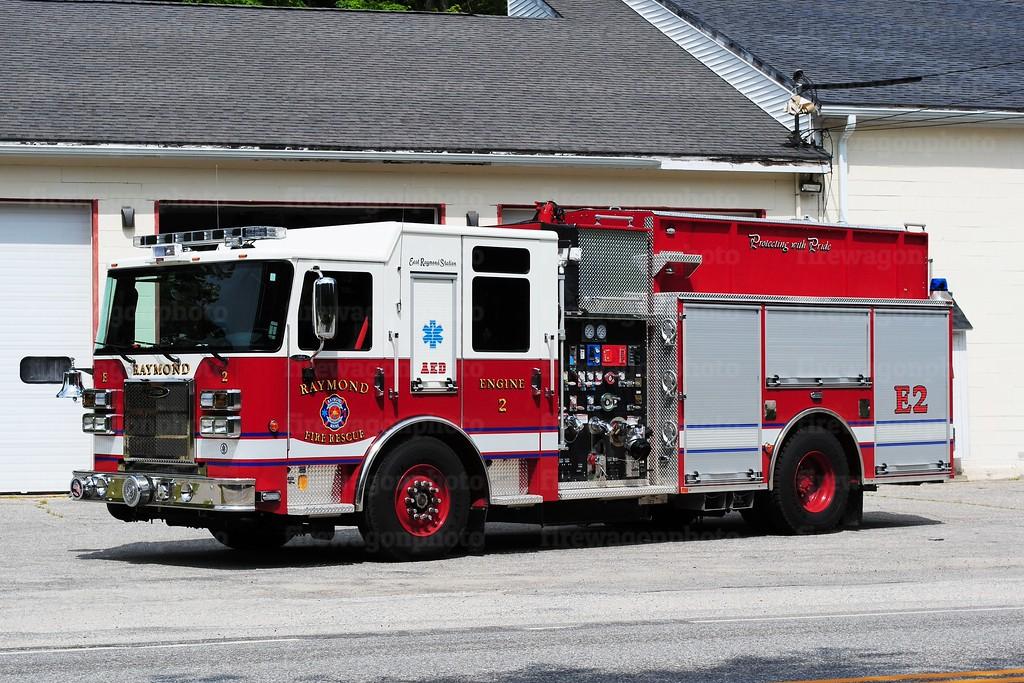 Raymond, Maine - East Raymond Station<br /> Engine 2: 2015 Pierce Saber 1250/1000
