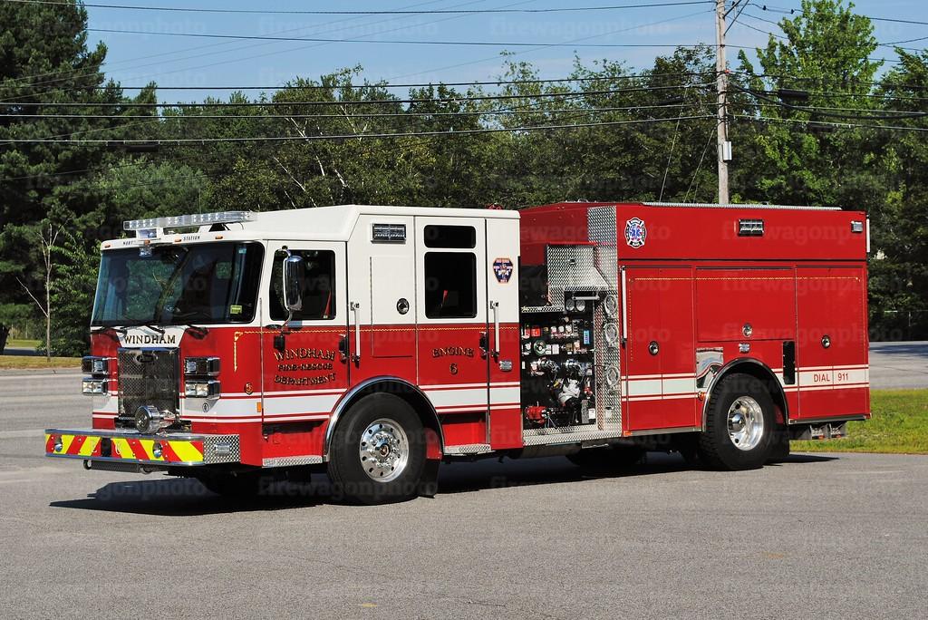 Windham, Maine - North Windham Station<br /> Engine 6: 2016 Pierce Saber 1500/1000/20F