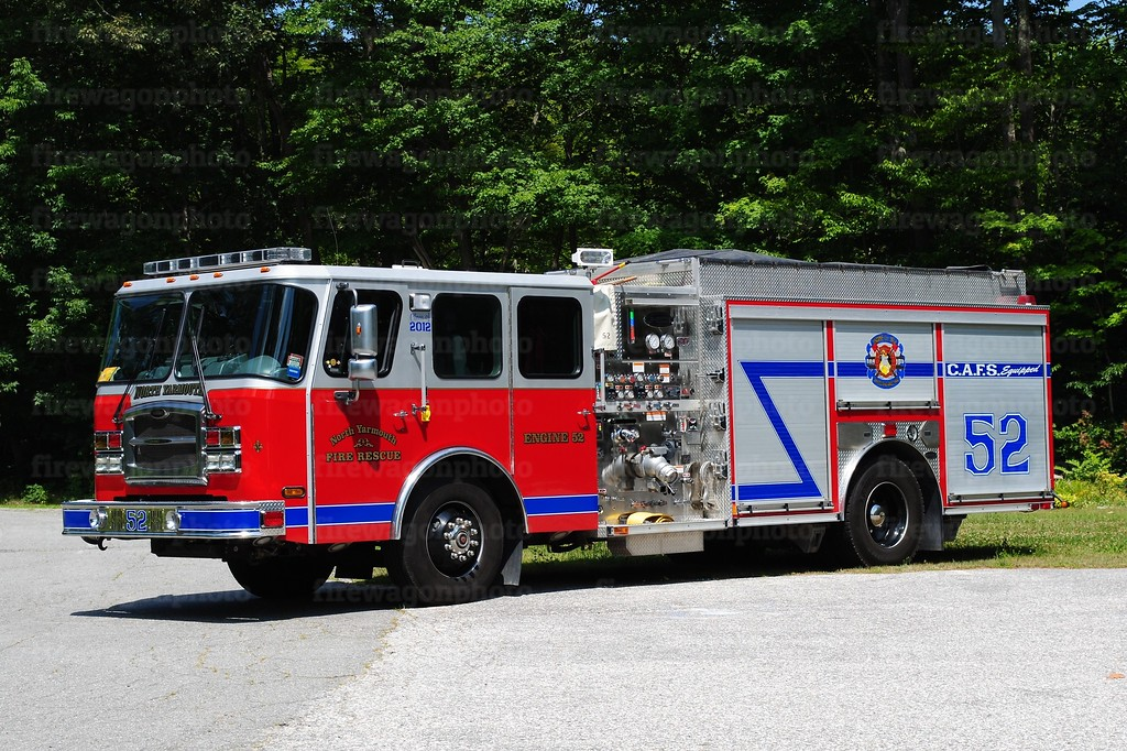 North Yarmouth, Maine  - Engine 52: 2012 E-One Typhoon 1500/1000/30A<br /> repaint 2017