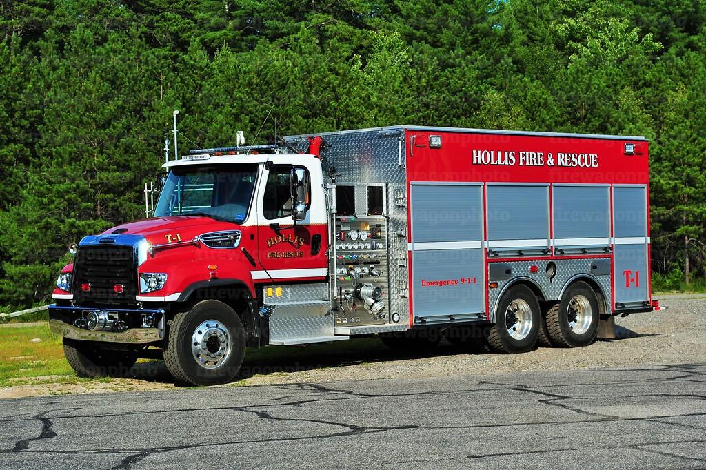 Hollis, Maine - Tanker 1: 2016 Freightliner/Spencer 1500/3000/30F