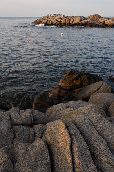 Evening rocks