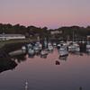 Twilight in the harbor