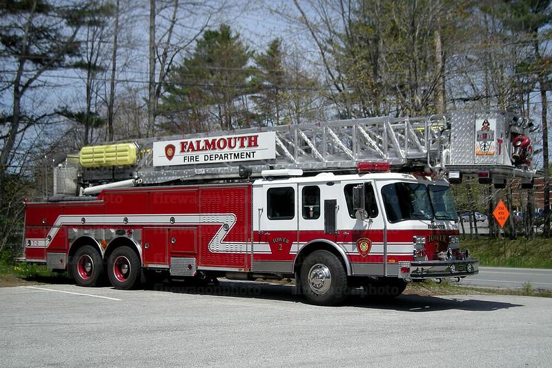 Falmouth, Maine - Tower 2: 1997 E-One Hurricane 95'
