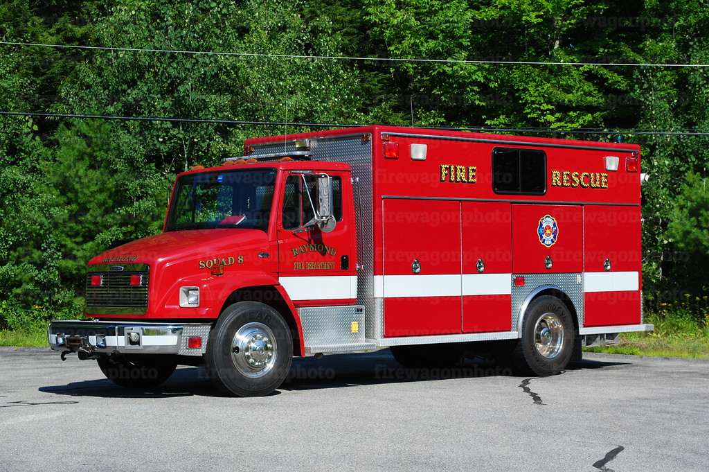 Raymond, Maine - Squad 8: 1999 Freightliner/EVI<br /> aquired 2014