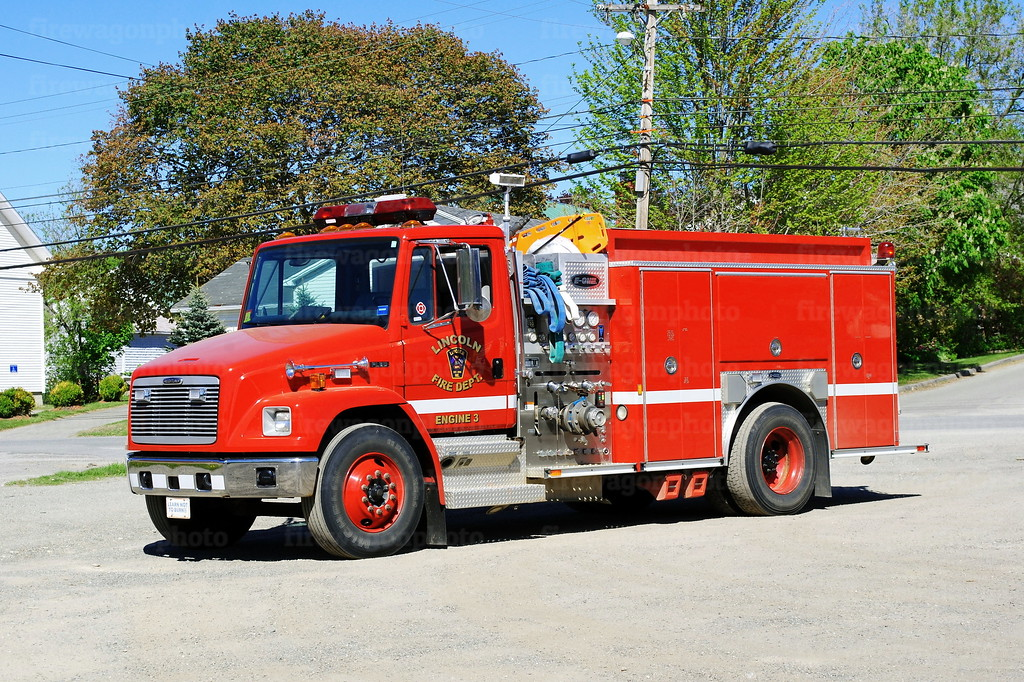 Lincoln, Maine Engine 3: 2004 Freightliner/E-One 1500/1000