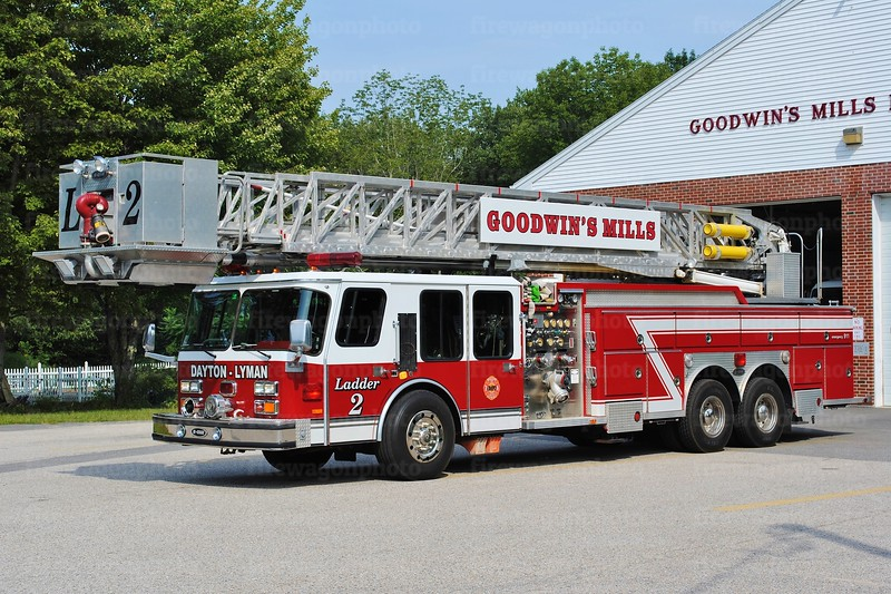 Goodwins Mills, Maine - Ladder 2: 1987/ 2008 E-One Hurricane<br /> 1500/200/95'