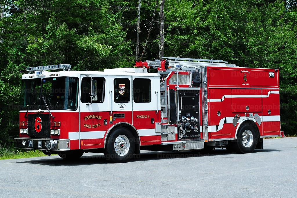 Gorham, Maine - West Gorham station<br /> Engine 6: 2013 HME/Ferrara 1500/1000/50A