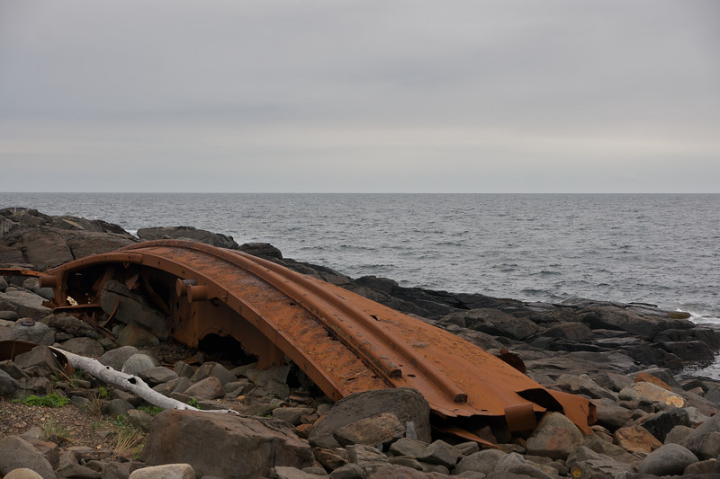 Wreck of the D.T. Sheridan