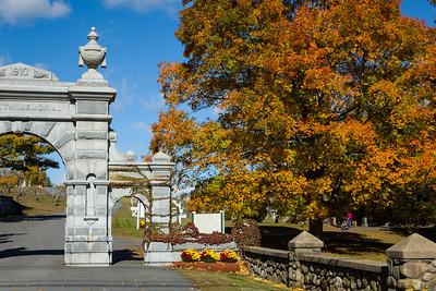 Cemetery Entrance, Groveland, Massachusetts